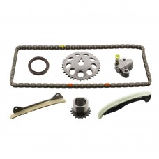 Timing-chain set, OE-Quality, Citroën C1, Daihatsu Charade and Sirion, Peugeot 107, Toyota Aygo, part nr. 0816.K3, 13506-21020, 13506-0Q010
