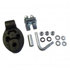 Exhaust pendant, end damper, Volvo S80, V70