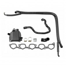 Cranckcase vent set, complete, Volvo 850 Turbo, part nr. 1271771, 1271653, 9146756, 9146266, 9146758, 9471644