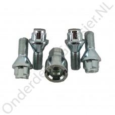 Lock bolt set m12x1,5