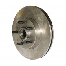 Brake disc, including the hub, front, Volvo 740, 760, part nr. 270876