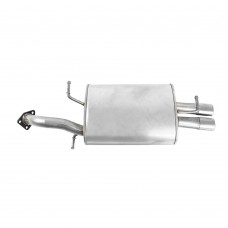 End silencer, exhaust, 2.0 non-turbo, Volvo S40, V40, 2.0i, part nr. 30613763, 30816207