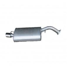 End silencer, exhaust, Turbo petrol, Original, Volvo S40, V40, 1997-2004, part nr. 30613770
