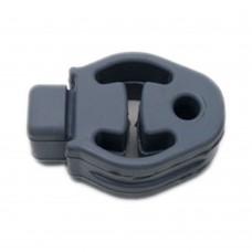 Rubber mount, silencer, Volvo C30, C70, S40, V50, part nr. 30647635, 30657361