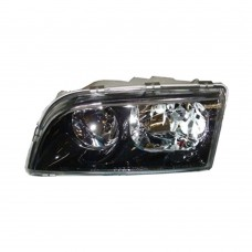 Headlight unit, left, doube reflector, black housing, Volvo S40, V40, part.nr. 30899678