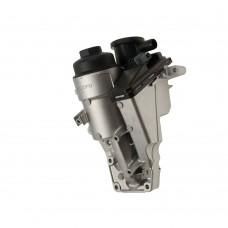 Oilfilter housing, including cranckcase vent, Original, Petrol, 5-cil, Origineel Volvo C30, C70, S40, S60, S80, V40, V50, V60, V70, XC60, XC70, part nr. 31338685, 30788494, 31338684