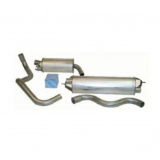Exhaust set, as from the front tube, Volvo 164, 240, 260, without turbo, part.nr. 31372147