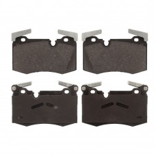 Brake pad set, front, OE-Quality, Mini R55, R56, R57, R58, R59, JCW, part nr. 34116784726, 34116789157