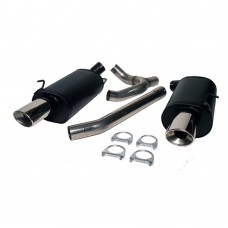 BSR SportFlow Duplex sport exhaust system, Volvo 850, S70, V70 AWD, part.nr. 4002020