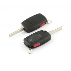 Key housing and uncut key,, Audi A3, A4, part nr. 4DO837231