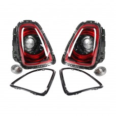 Taillight retrofit set, Black Line, Original, Mini R56, R57, R58, R59, part.nr. 63212320380