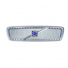 Grille, chrome, Volvo V70, model year 2000-2004, part nr. 8659875