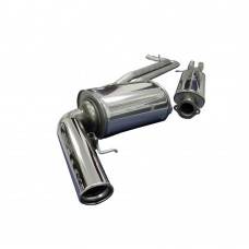 BSR SportFlow sport exhaust system, Volvo V70 2,0T, 2.4T, 2.5T, D5, part.nr. 4002028, 30672328