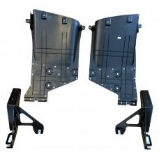 Diffuser, rear bumper, Original, Mini R56, R57, R58, R59, part.nr. 51747330558