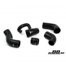 do88 Intercooler hose set, Volvo 850, S70, V70, C70 Turbo, part.nr. 31261370, 9161091, 6842167, 9161092, 9161093