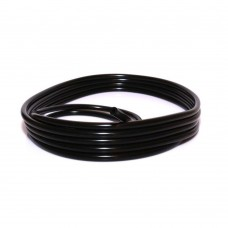 Silicone vacuum hose , 6,3mm inner diameter, black, red or blue